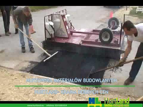 Naprawa asfaltu – EZ Naprawa nawierzchni Demonstracja naprawy asfaltu w podczerwieni dla amerykańskiej wody