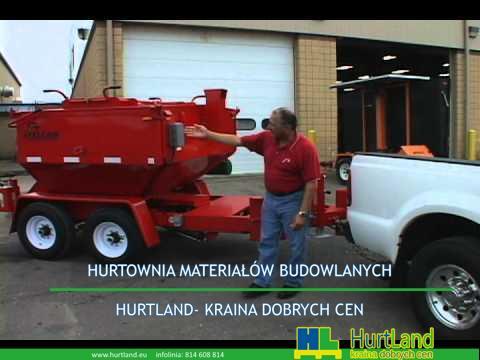 Naprawa asfaltu – Falcon Road Konserwacja Sprzęt do recyklingu asfaltu wideo