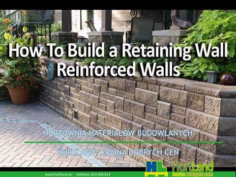 Jak zbudować wzmocnioną ścianę oporową za pomocą geokraty