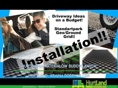 DIY pomysły na drogi na budżet !! Krok 4!! Standartpark Geo / Ground Grid INSTALACJA !!