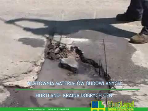Naprawa asfaltu – Cold Patch Pothole Repair / Ямочный ремонт