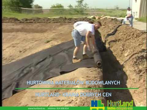 Zainstaluj geotextile-up hill.avi