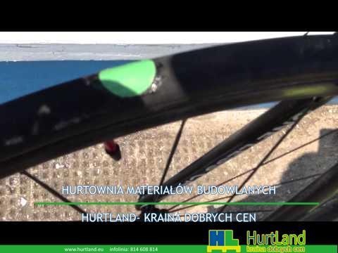 Naprawa asfaltu – Jak naprawić przebitą rurową oponę obok drogi!