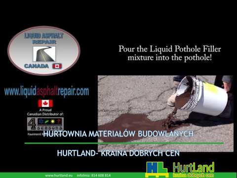 Naprawa asfaltu – Płynna naprawa asfaltu