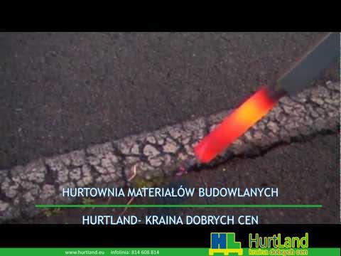 Naprawa asfaltu – Czyszczenie pęknięć asfaltu