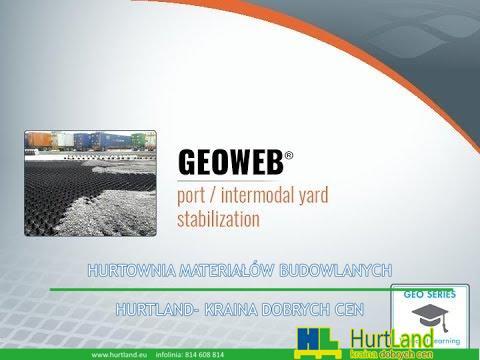 Stabilizacja w porcie i intermodalnej z systemem glebowym GEOWEB® 3D