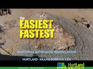 Naprawa asfaltu – najłatwiejsza, najszybsza i najtrwalsza naprawa asfaltu Flash Track