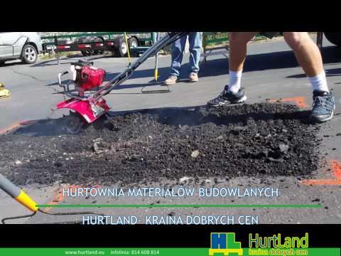 Naprawa asfaltu – Proces Wavebond – Miejska naprawa nawierzchni asfaltowej