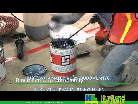 Jak stworzyć czarną betonową podłogę z LITOCHOCHROMEM® Chemstain
