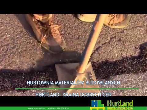 Naprawa asfaltu – Jak używać zimnej łaty asfaltowej do naprawy blacktopu, naprawiania pęknięć, dziu