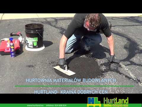 Naprawa asfaltu – Naprawa na drodze dojazdowej – łatka asfaltowa – Piasta