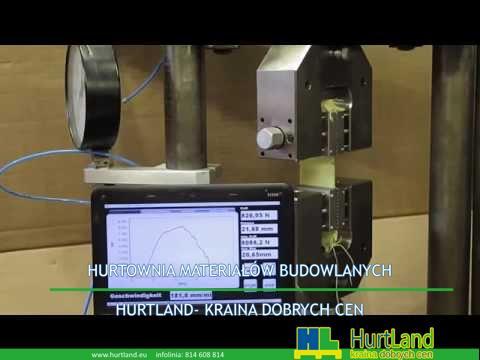 ASTM D5035 – Test taśmowy – Tkaniny tekstyln