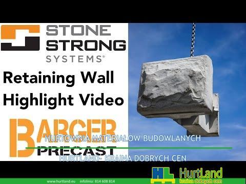Stone Strong Mur oporowy Podświetl wideo