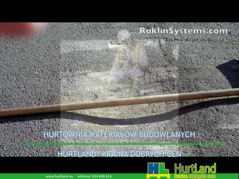 Naprawa asfaltu – Jak korzystać z produktów do naprawy asfaltu – FloMix z Roklinsystems.com