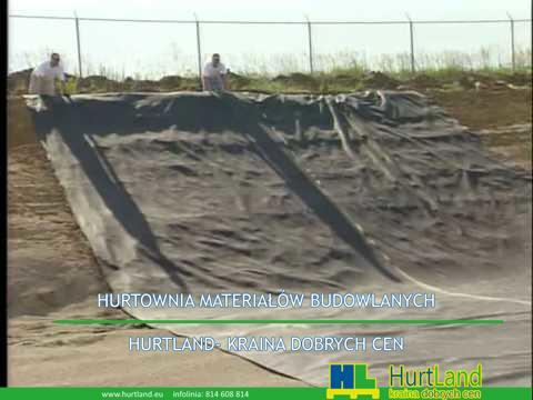 Zainstaluj geotextile – down hill.avi