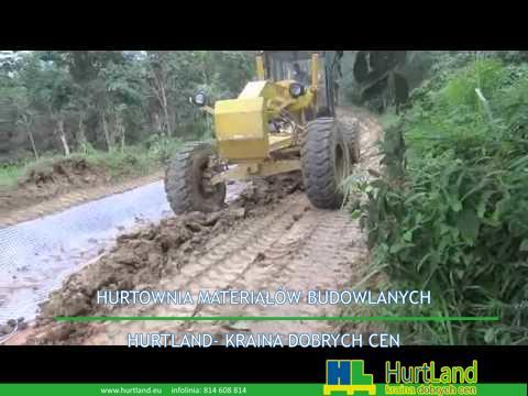 Geokrata do budowy drogi