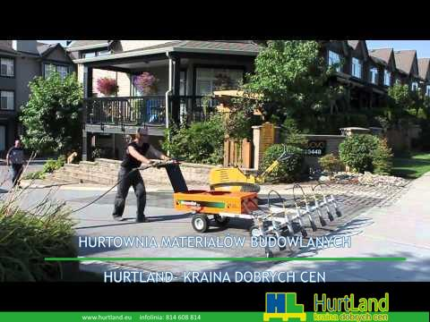 Naprawa asfaltu – Tłoczone produkty asfaltowe HQ Video