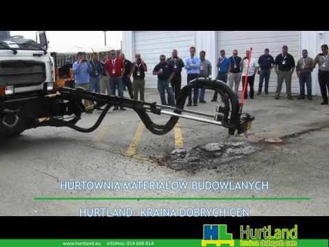 Maszyna do szybkiej naprawy asfaltu