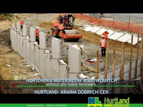 Wzmocnione mury oporowe w konstrukcji nasypów kolejowych