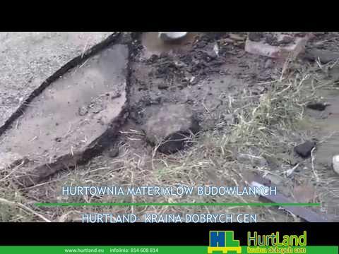 Naprawa asfaltu narzędziami ręcznymi