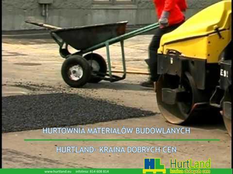 Naprawa asfaltu za pomocą podczerwieni