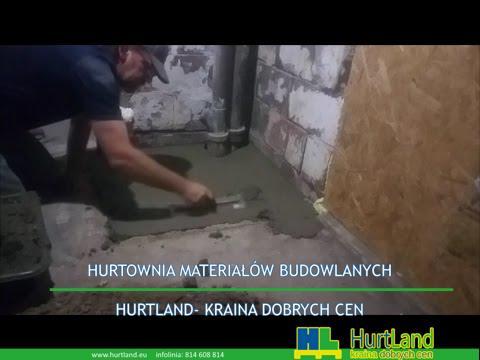 Naprawa i wykończenie betonowej posadzki w piwnicy