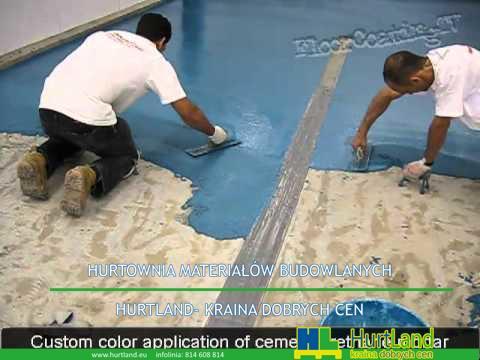 Naprawa betonowej posadzki w zakładzie przemysłu spożywczego