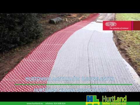 Geosiatka DuPont GroundGrid do stabilizacji gruntu