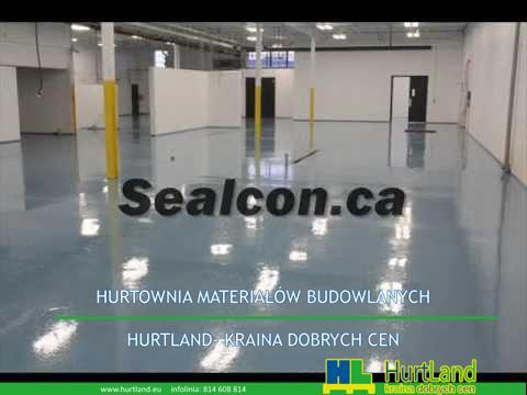 Naprawa i malowanie podłogi betonowej
