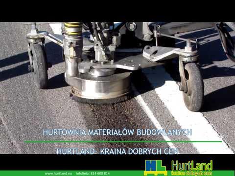 Sprzęt do usuwania poziomego oznakowania drogowego