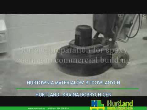 Szlifowanie betonowych podłóg i polerowanie betonu