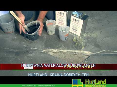 Jak naprawić dziurę w betonowej posadzce