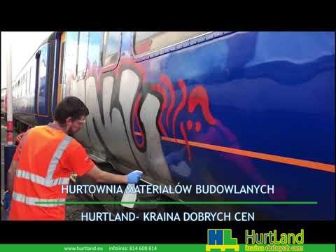 Ekologiczne usuwanie graffiti