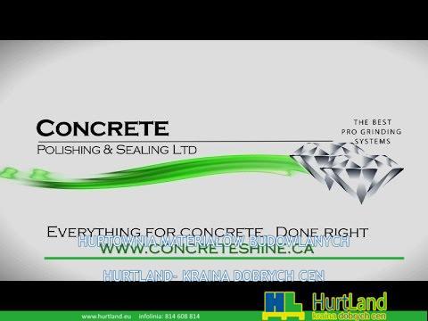 Polerowanie i uszczelnianie posadzek betonowych