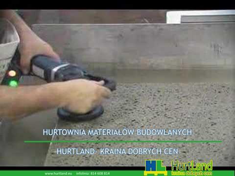 Tarcze polerskie do polerowania betonu