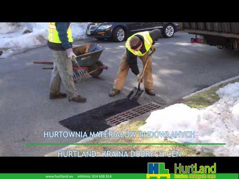 Naprawa asfaltu z wykorzystaniem podczerwieni