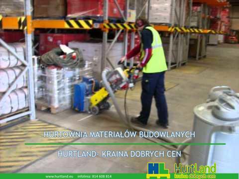 Naprawa dylatacji posadzki betonowej