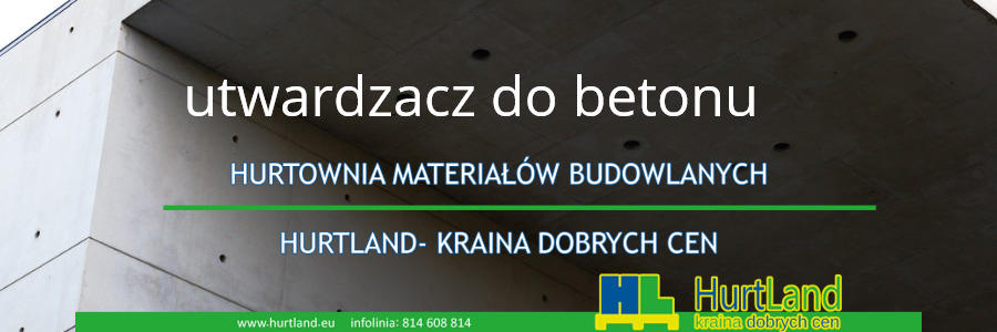 utwardzacz do betonu