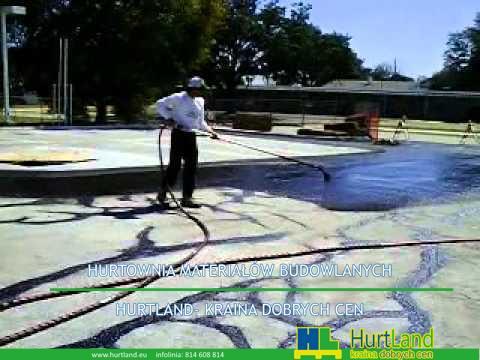 Naprawa asfaltu - pokrycie powłokowe