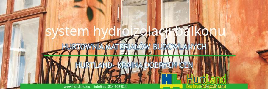 system hydroizolacji balkonu